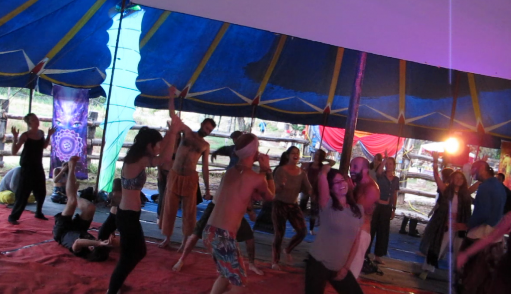 Ecstatic Dance AGNI Festival 2017 Sonido Pulsar Dj